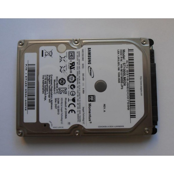 "Жесткий диск Samsung ST1000LM024 HN-M101MBB/JP3 2BA30001 1Tb 2.5"" SATA"