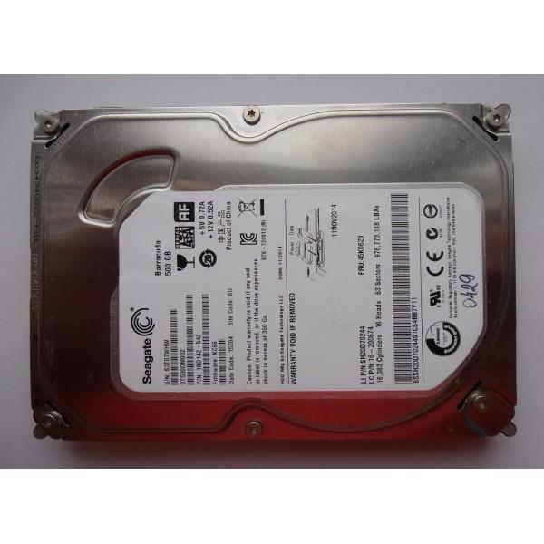 "Жесткий диск Seagate ST500DM002 1BD142-542 500gb 3.5"" SATA KC66 SU"