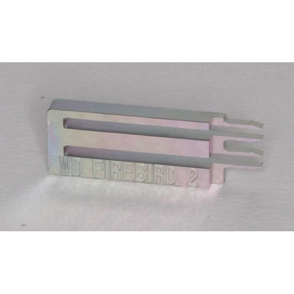 """Инструмент для съёма головок жестких дисков WD Firebird 2 (E-тип), 2.5"""", 2 диска"""