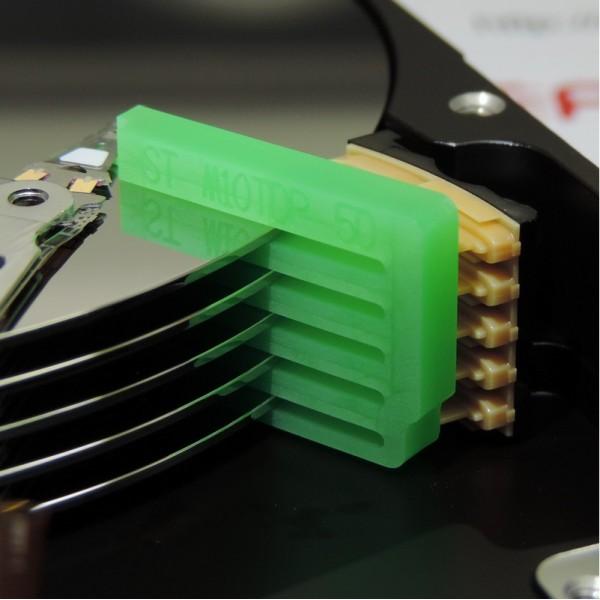 """Инструмент для снятия головок жестких дисков Seagate M10TDP ST4000LM016  2,5"""", 5 дисков"""