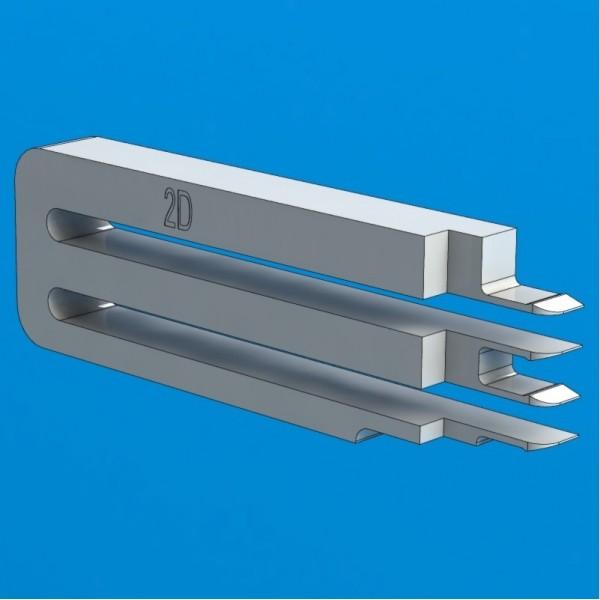 """Универсальный инструмент для снятия головок жестких дисков Seagate/Toshiba 2D, 2,5"""", 1-2 диска"""