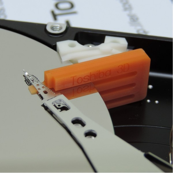 """Инструмент для снятия головок жестких дисков Toshiba 3D, 2,5"""", 3 диска"""