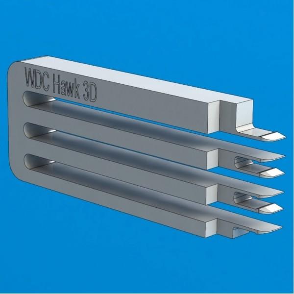 """Инструмент для съёма головок жестких дисков WD Hawk 3D (E-тип), 3.5"""", 2-3 диска"""