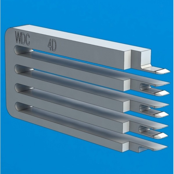 "Инструмент для съёма головок жестких дисков WD Shrek 4D (E-тип), 2.5"", 2-4 диска"