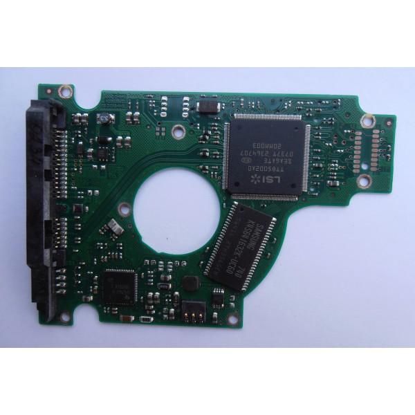 "Контроллер 100398689 REV C жесткого диска Seagate ST9160821AS 9S1134 2.5"" 160gb SATA"