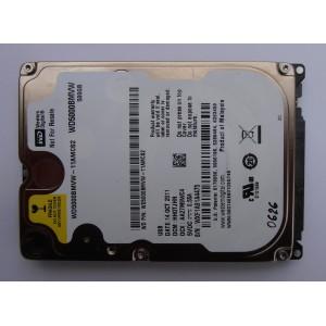 "Жесткий диск WD5000BMVW-11AMCS2 500gb 14OCT2011 HH0TJHN 2.5"" SATA"