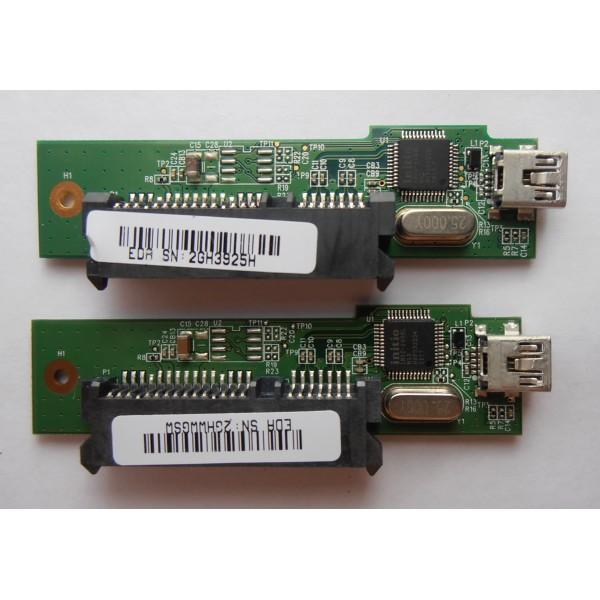"""Контроллер Seagate Raptor 2.5 MAIN BOARD V2R1 2.5"""" USB 2.0 INIC-1608L SATA"""