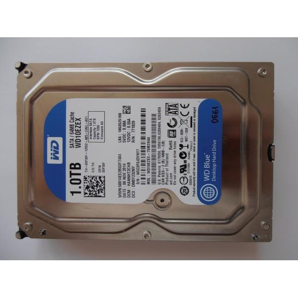 """Жесткий диск WD10EZEX-75M2NA0 1Tb 06NOV2014 HANNHT2CHB 3.5"""" SATA"""