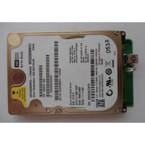 "Жесткий диск WD3200BMVU-11A04S0 HHNTJHBB 320gb 2.5"" 21NOV2008 USB 2.0"