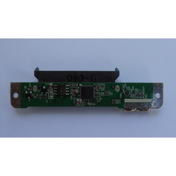 "Контроллер Toshiba STOR.E ALU 2S U3T-2E-1053 V1.0 2.5"" ASM1053 USB 3.0 SATA"