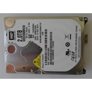 "Жесткий дискWD20NMVW-11AV3S2 2Tb HHMTJHKB 31DEC2013 2.5"" USB 3.0"