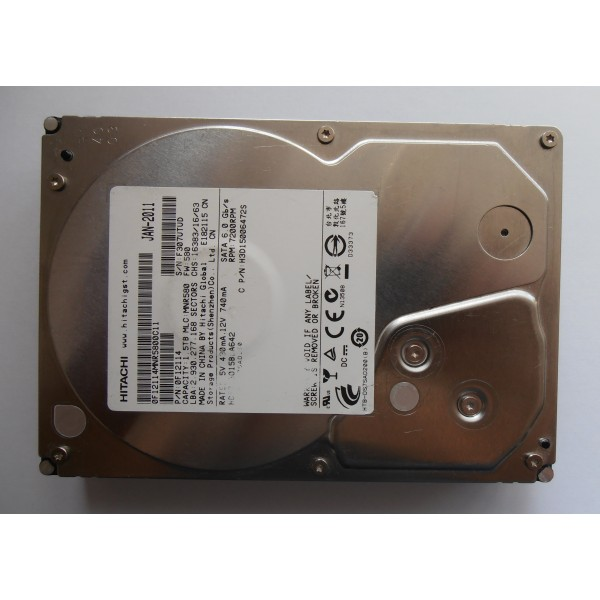 "Жесткий диск Hitachi HDS723015BLA642 JAN-2011 0F12114 SATA 3.5"" 1500gb"