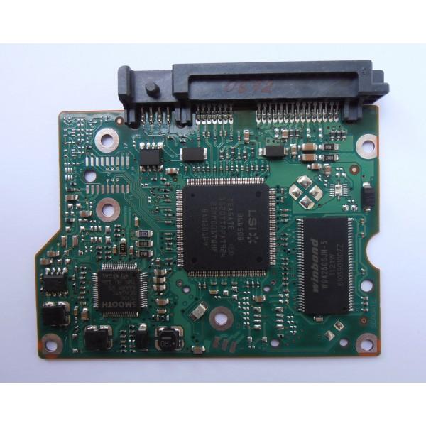 "Контроллер 100617465 REV B HDD Seagate ST1500DL003-9VT16L MCKXL A 3.5"" 1.5Tb SATA"