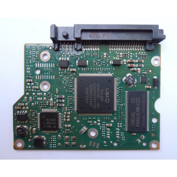 "Контроллер 100617465 REV B HDD Seagate ST1000DL002-9TT15 SH6968B A 3.5"" 1Tb SATA"