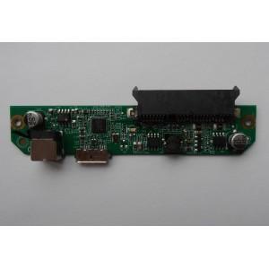 """Контроллер Seagate FALCON-3.5"""" REV A ASM1053 E153302 EH3U38 USB 3.0 SATA"""