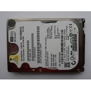 "Жесткий диск WD1600BEVS-22RST0 160gb 05DEC2007 HANTJABB 2.5"" SATA"