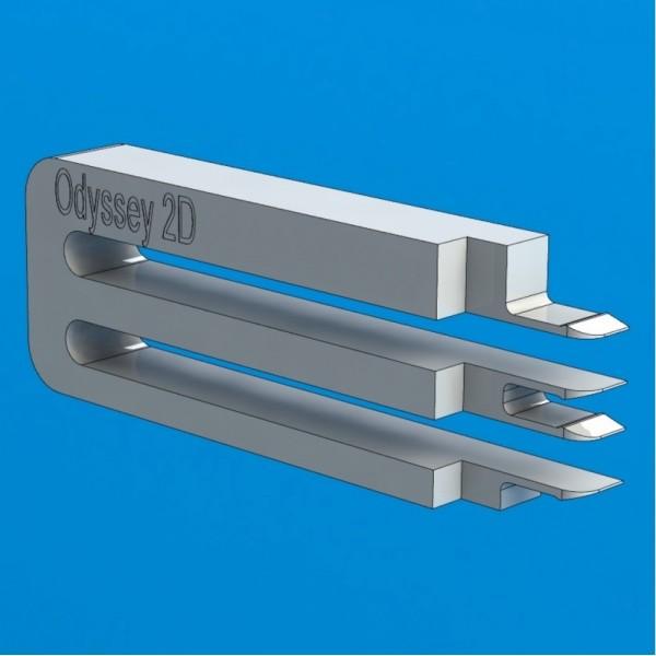 """Инструмент для съёма головок жестких дисков WD Odyssey 2D  (E-тип), 3.5"""", 1-2 диска"""